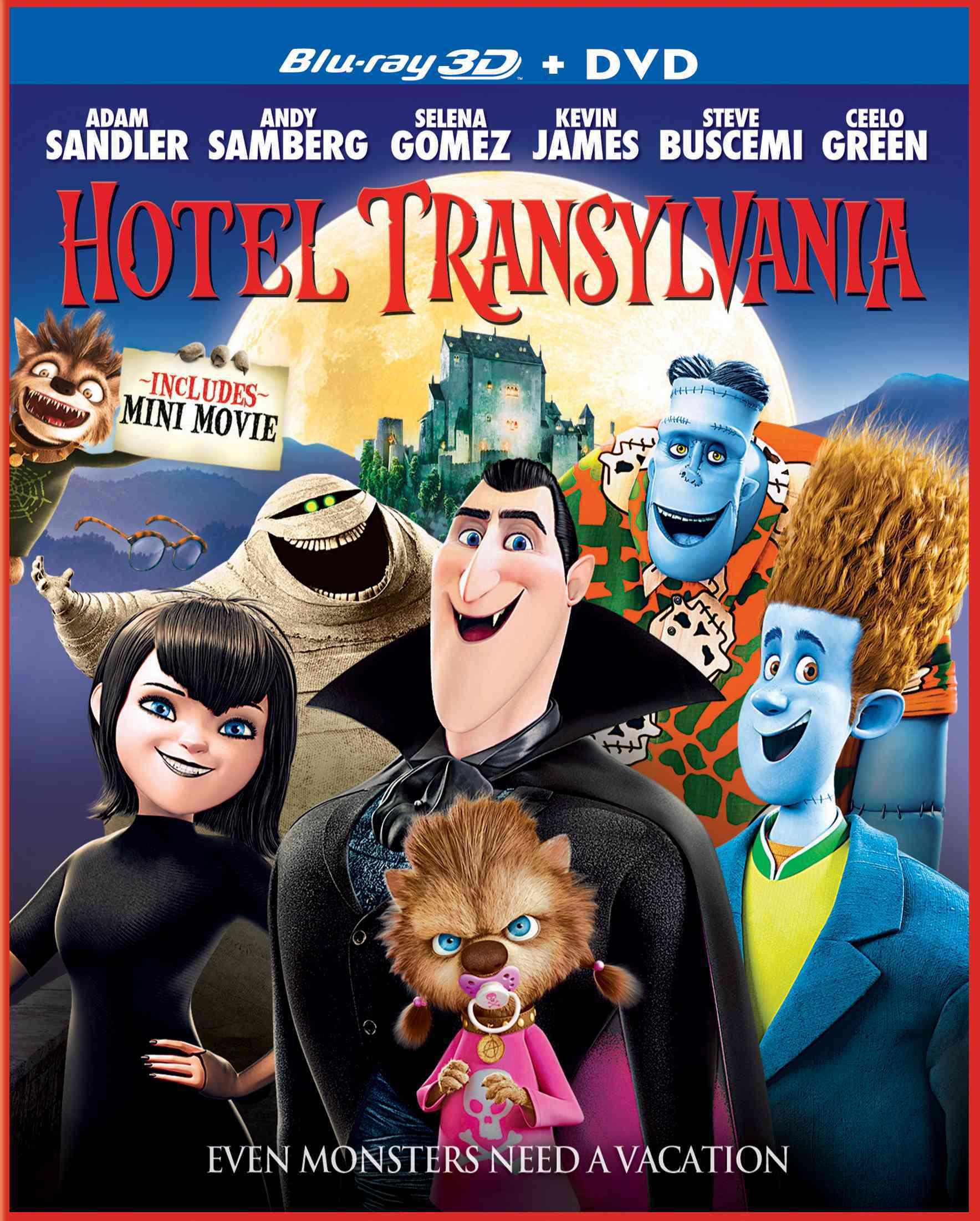 HOTEL TRANSYLVANIA (3D) BY SANDLER,ADAM (Blu-Ray)
